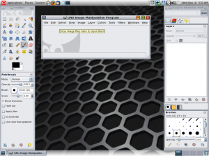 Gimp 2.6 in Solaris.