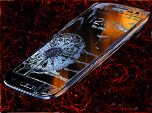Galaxy S4 Depicted in Flames