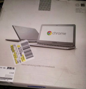 The Samsung Chromebook in a Box