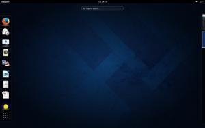 GNOME Shell on Fedora 20.