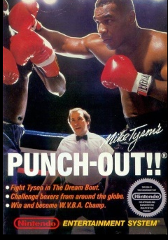Cover of Mike Tyson's Punchout!