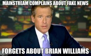 Brian Williams Fake News